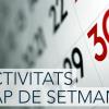 Agenda del cap de setmana 25 i 26 de març