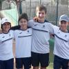 Derrota de l'Infantil Masculí contra el Tennis Tarragona en la Lliga Catalana de tennis