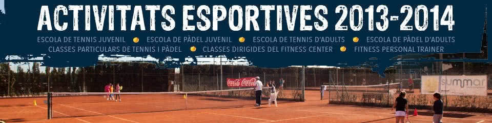 Activitats esportives 2013-2014