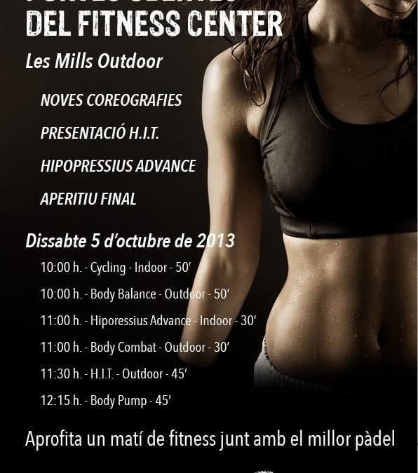 Portes Obertes del Fitness Center