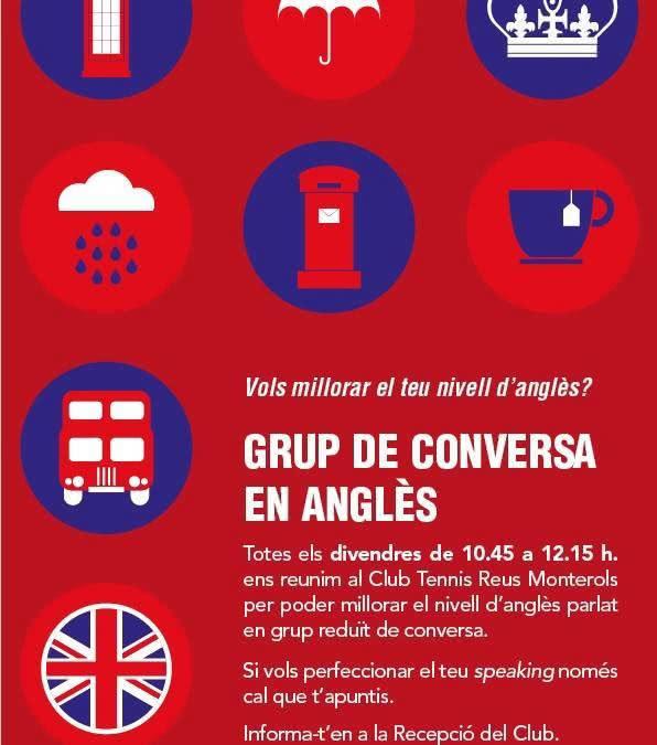 Millora el teu nivell d'anglès amb el grup de conversa del Club