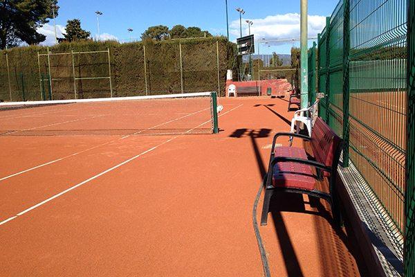 Millora de les instal·lacions del Club Tennis Reus Monterols