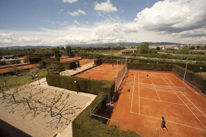 Bons resultats de l'Aleví Femení davant el Tennis Tarragona B en la Lliga Catalana de tennis