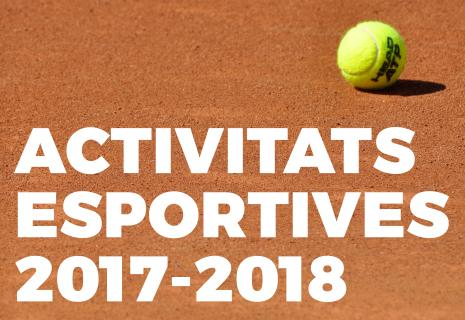 Activitats esportives 2017-2018