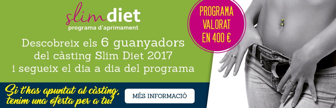 Inscriu-te al programa Slim Diet