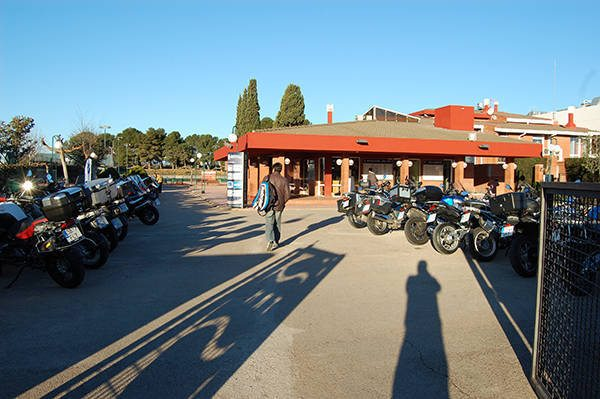 El Monterols acull la sortida Oliva Motor BMW Motorrad