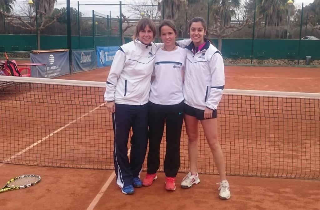 Derrota de l'absolut femení contra el Tennis Tarragona en la Lliga Catalana de tennis