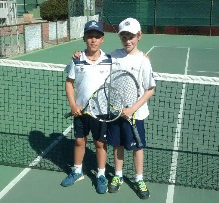 Bons resultats dels jugadors del Monterols al Circuit Juvenil Head de tennis del Club de Tennis Barà