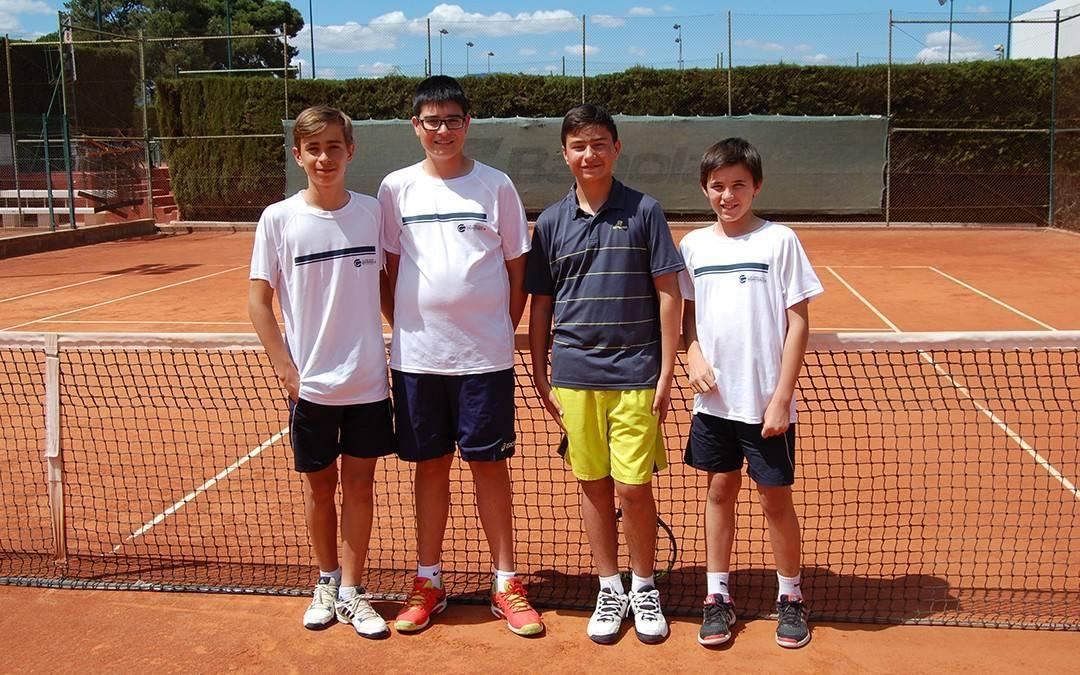 Resultats de les competicions de la Lliga Catalana de tennis del passat diumenge 29 de maig