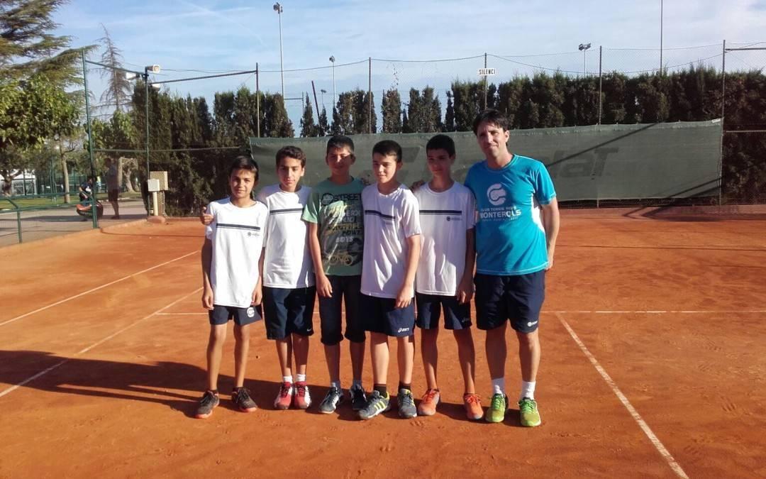 Derrota de l'infantil masculí B davant l'Atlètic Terrassa en les semifinals de la Lliga Catalana