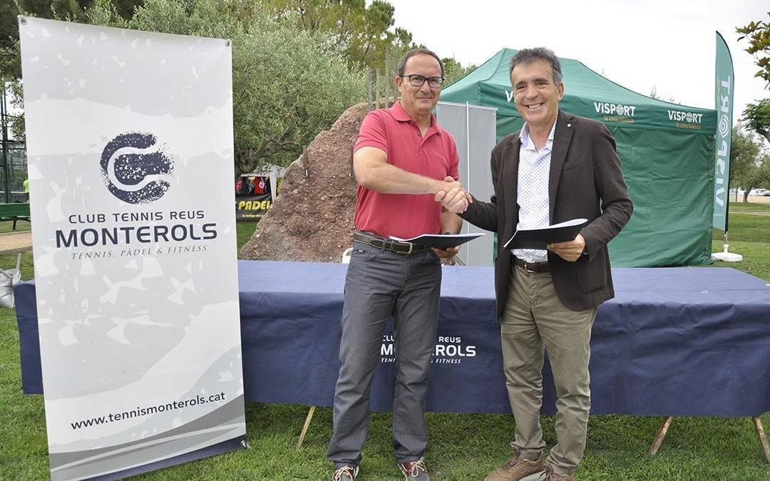 El Club Tennis Reus Monterols i el Club Golf Reus Aigüesverds signen un acord de col·laboració