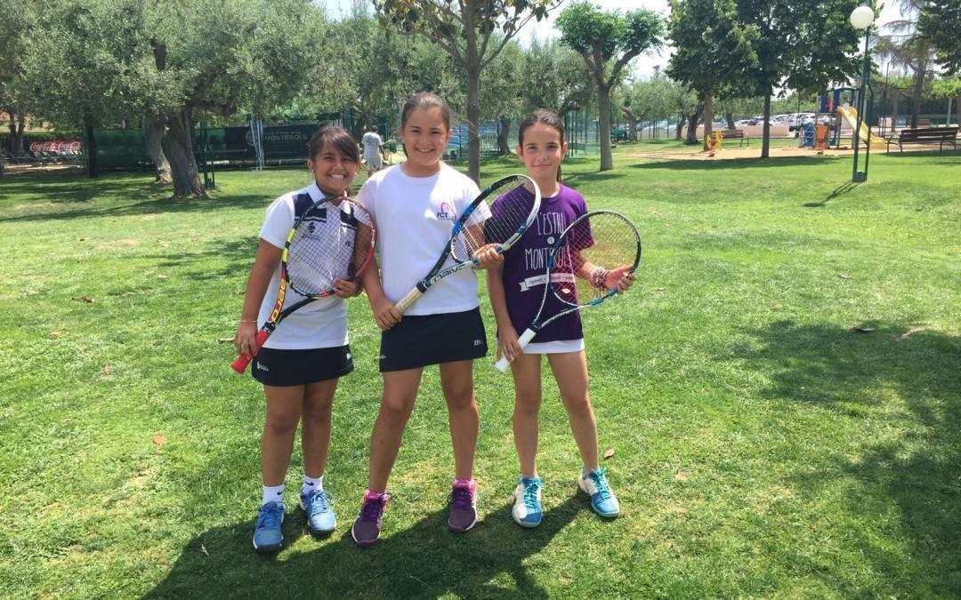 Derrota del benjamí femení davant el Tennis Barcelona en la Lliga Catalana de tennis