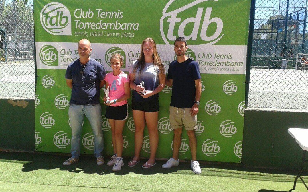 Bona representació dels tenistes del Monterols en les finals del Head Promeses del CT Torredembarra