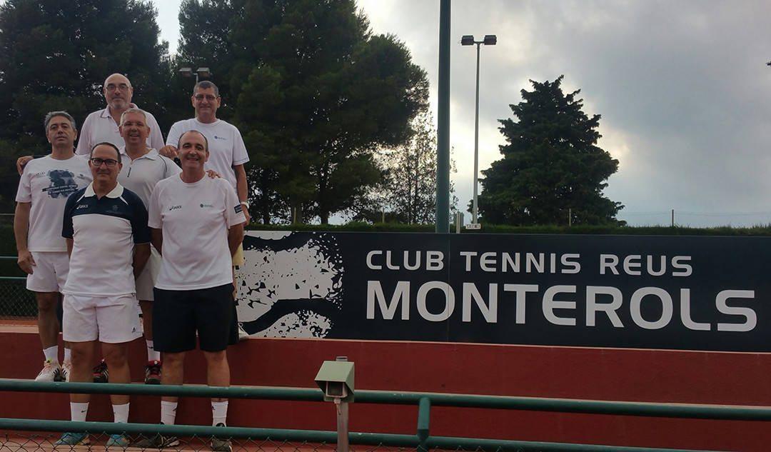 L'equip sénior masculí +50 de tennis aconsegueix l'ascens a la Categoria Or