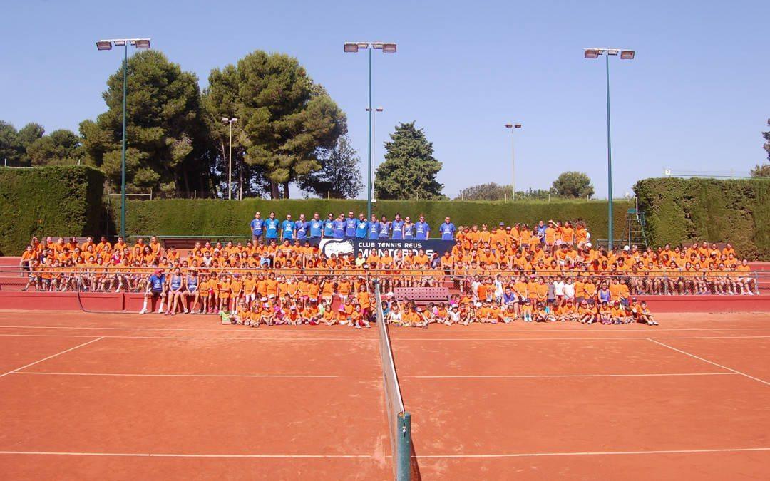 Més de 500 nens i nenes passaran l'estiu al Club Tennis Reus Monterols
