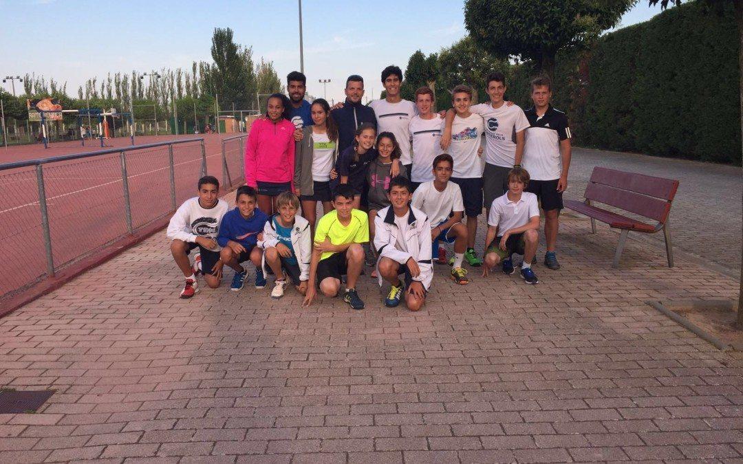 L'equip de l'escola de competició del Monterols disputa el XXXI Torneig Nacional de tennis de la ciutat de Calahorra