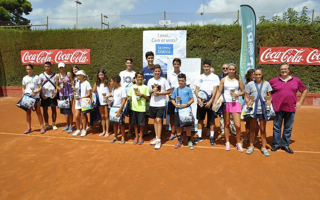 Punt i final del trofeu juvenil de tennis La Creu Blanca del Monterols