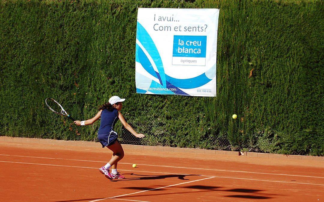 Definits els quarts i semifinals del Trofeu de tennis juvenil La Creu Blanca del Monterols