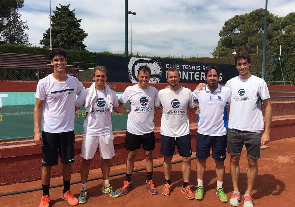 L'equip absolut masculí disputa a Múrcia la fase lliga del Campionat d'Espanya de tennis per equips