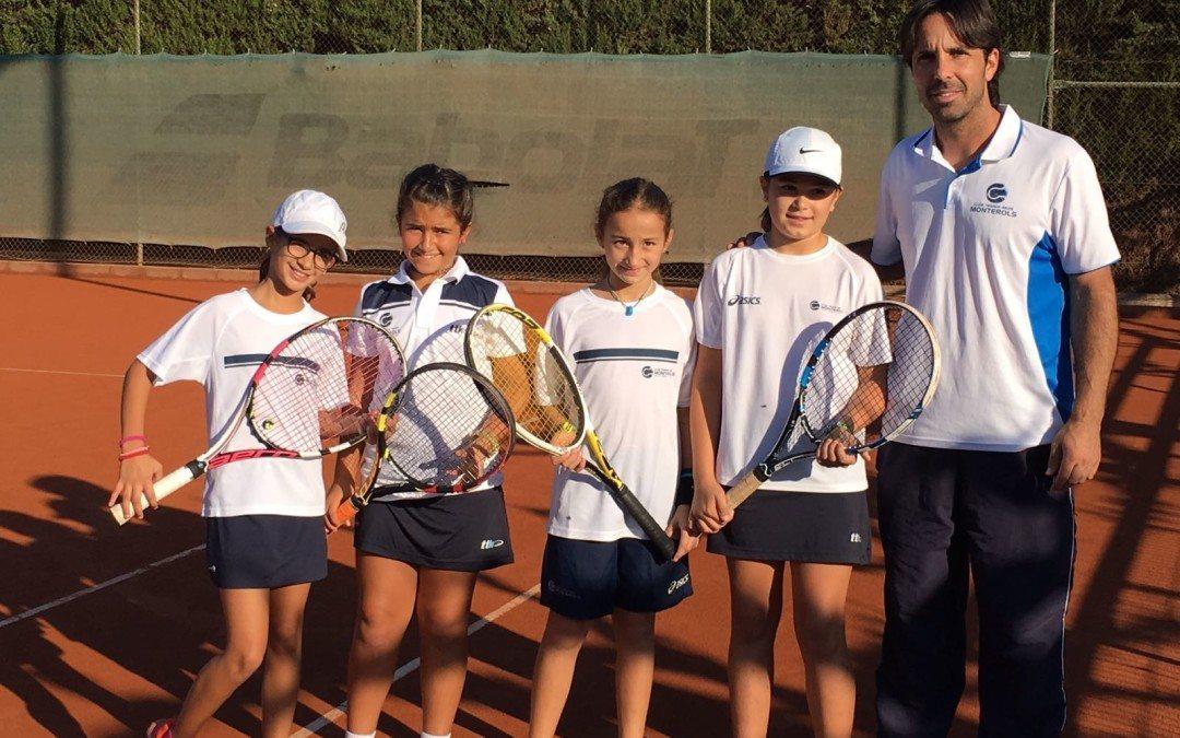 Bon inici de l'equip benjamí femení al campionat de Catalunya per equips