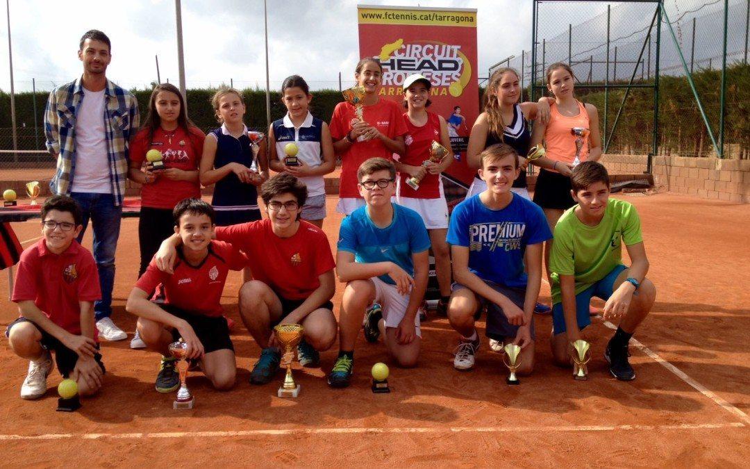 Bons resultats per Marta Tello, Nerea Muñoz i Mia Linkert al Circuit Head Promeses del Reus Deportiu