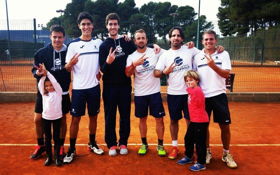 L'equip absolut masculí aconsegueix l'ascens de categoria al Campionat d'Espanya per equips