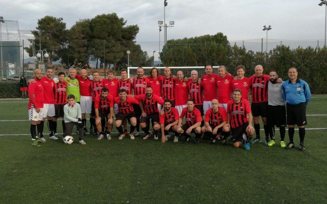 El derbi CF Reus – Nàstic de veterans disputat al Club finalitza amb la victòria dels granes per 4 a 2