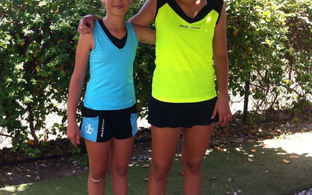 Maria Freixas i Júlia Garrido disputaran el Màster de menors de Catalunya de Pàdel
