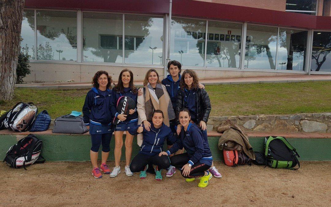 L'equip femení A perd contra el Sant Joan d'Espí en la Copa Catalunya de pàdel