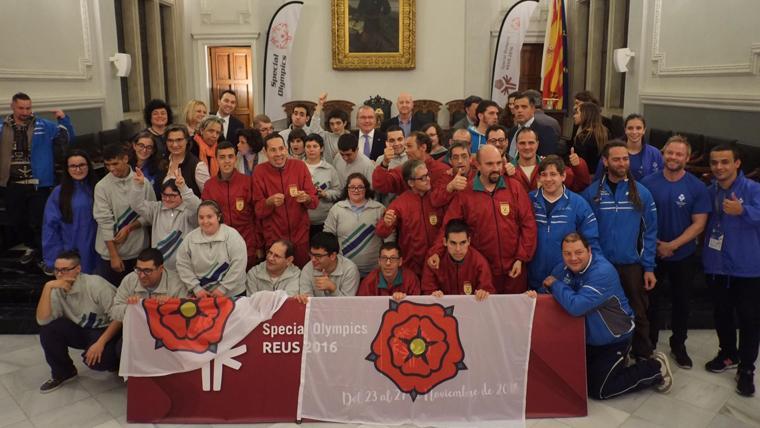 Reus dóna el tret de sortida als Special Olympics 2016