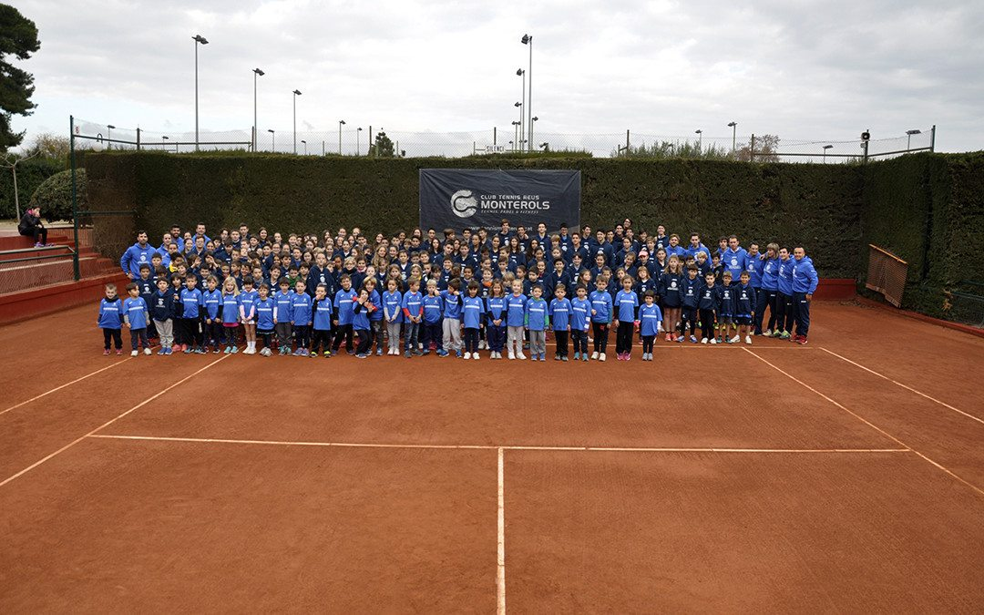 El Club Tennis Reus Monterols celebra el Vermut Social de Nadal amb la presentació dels alumnes de l'escola de tennis i pàdel