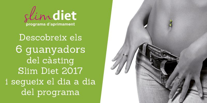 Programa Slim Diet 2017: la solució per aprimar-se!