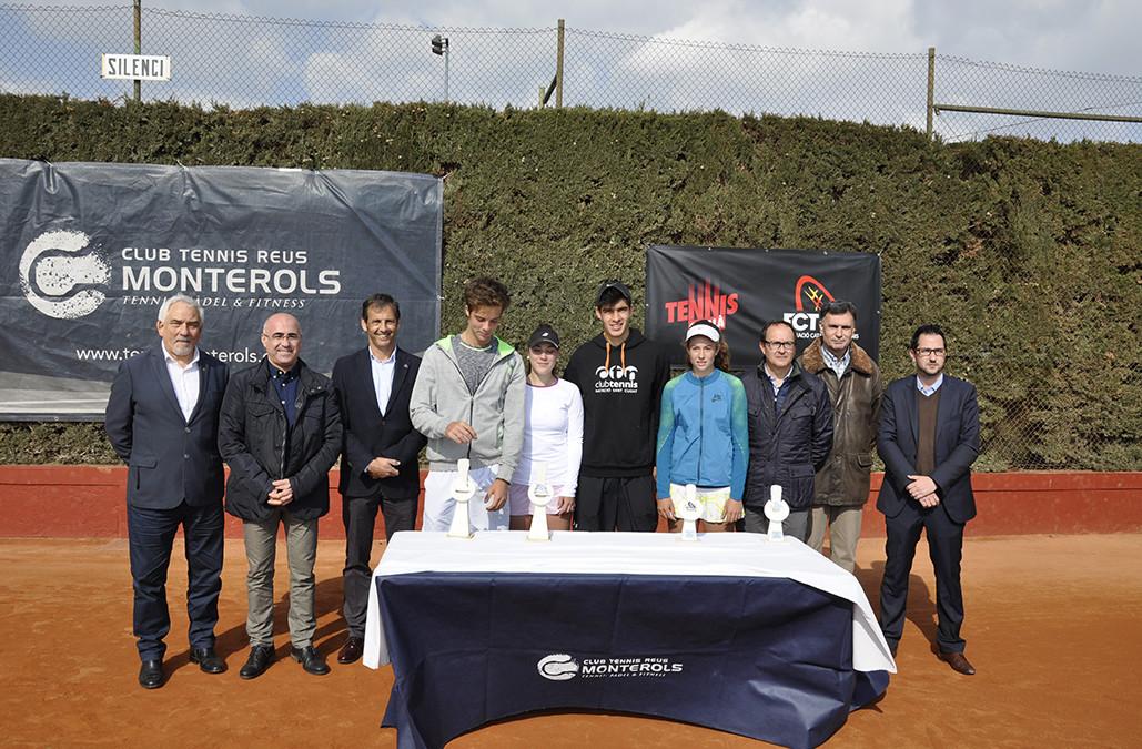 Nilo Duarte i Esther López es proclamen campions de Catalunya Júnior al Club Tennis Reus Monterols