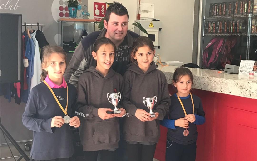 Bons resultats dels jugadors del Monterols que van participar al Circuit Provincial Burguer King de pàdel