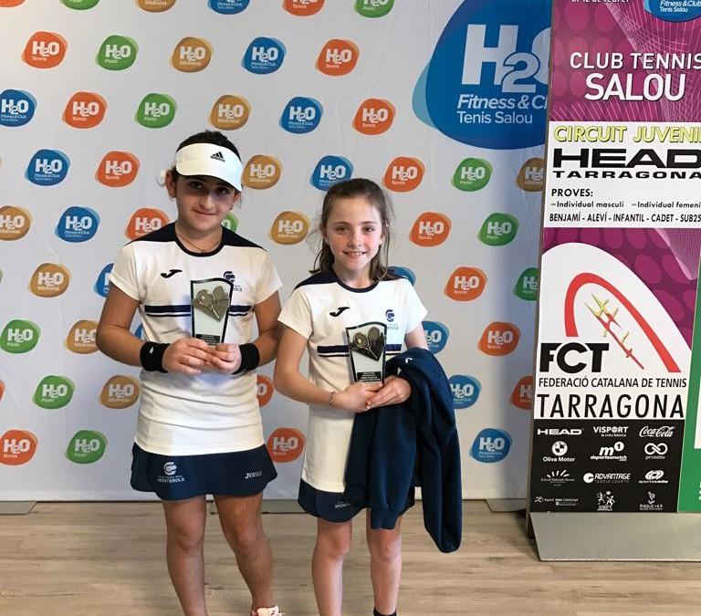 Finalitza el Circuit Juvenil Head del Tennis Salou amb bons resultats per a les benjamines del Monterols