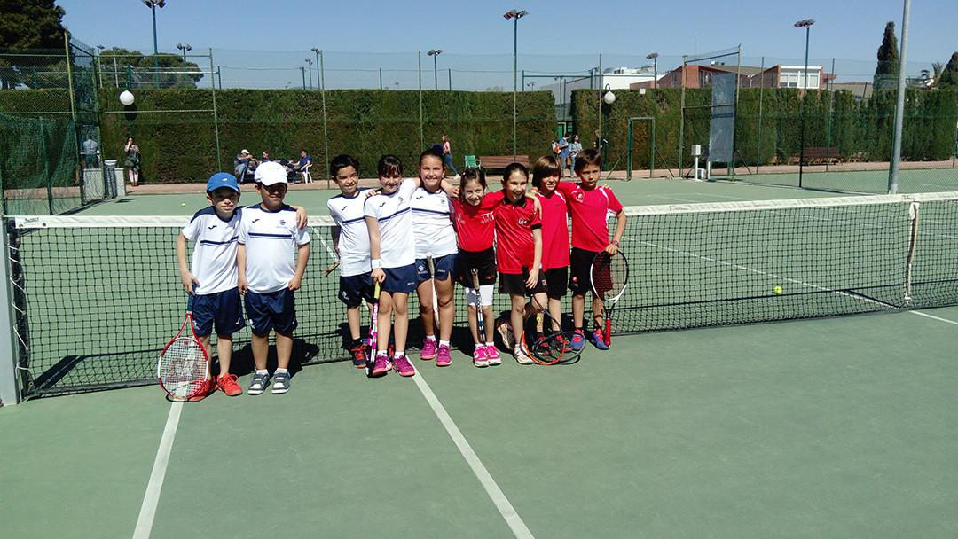 Jornada de Supertennis del Monterols contra el Tennis Tarragona