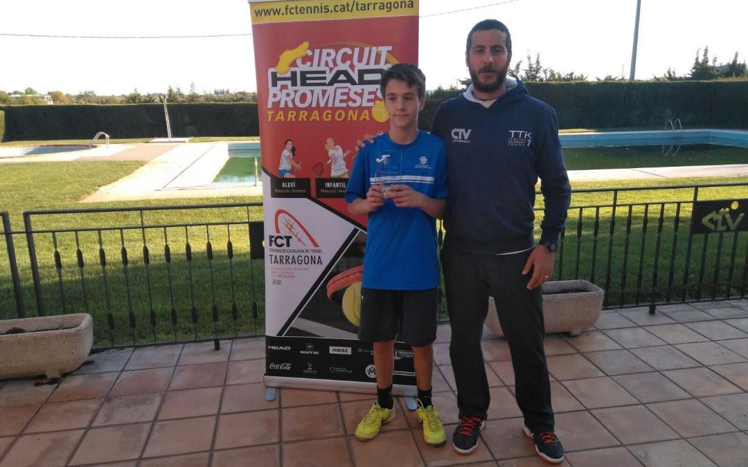 Tristan Arnuelos, guanyador del Circuit Head Promeses disputat al CT Valls