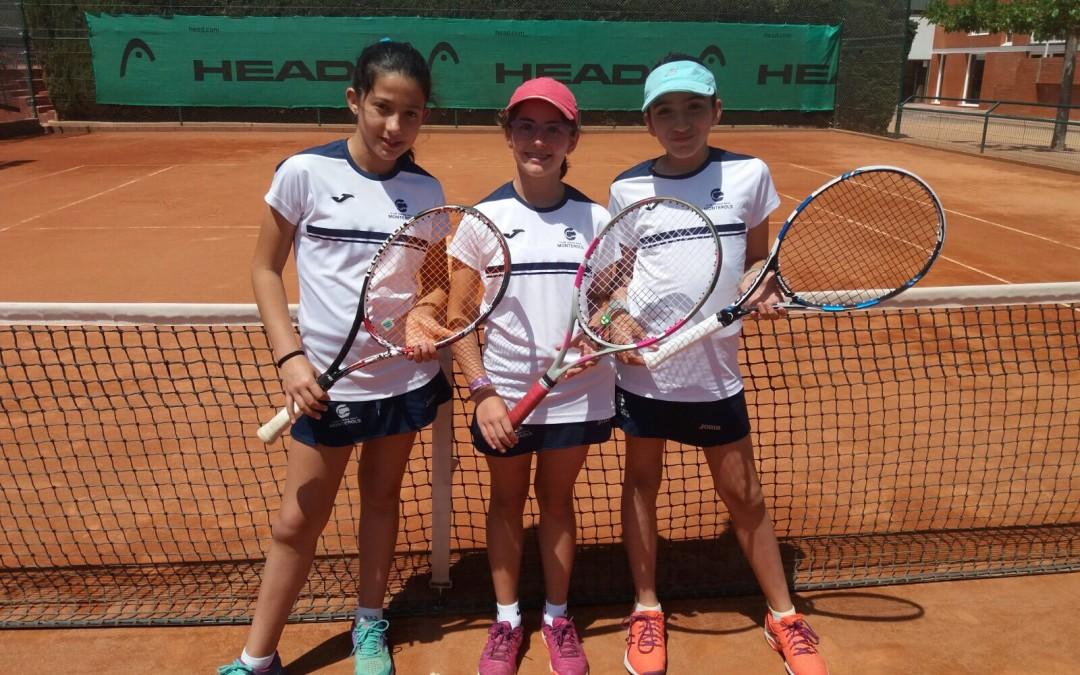 Fase final de la Lliga Catalana de tennis en categoria Aleví Femení B