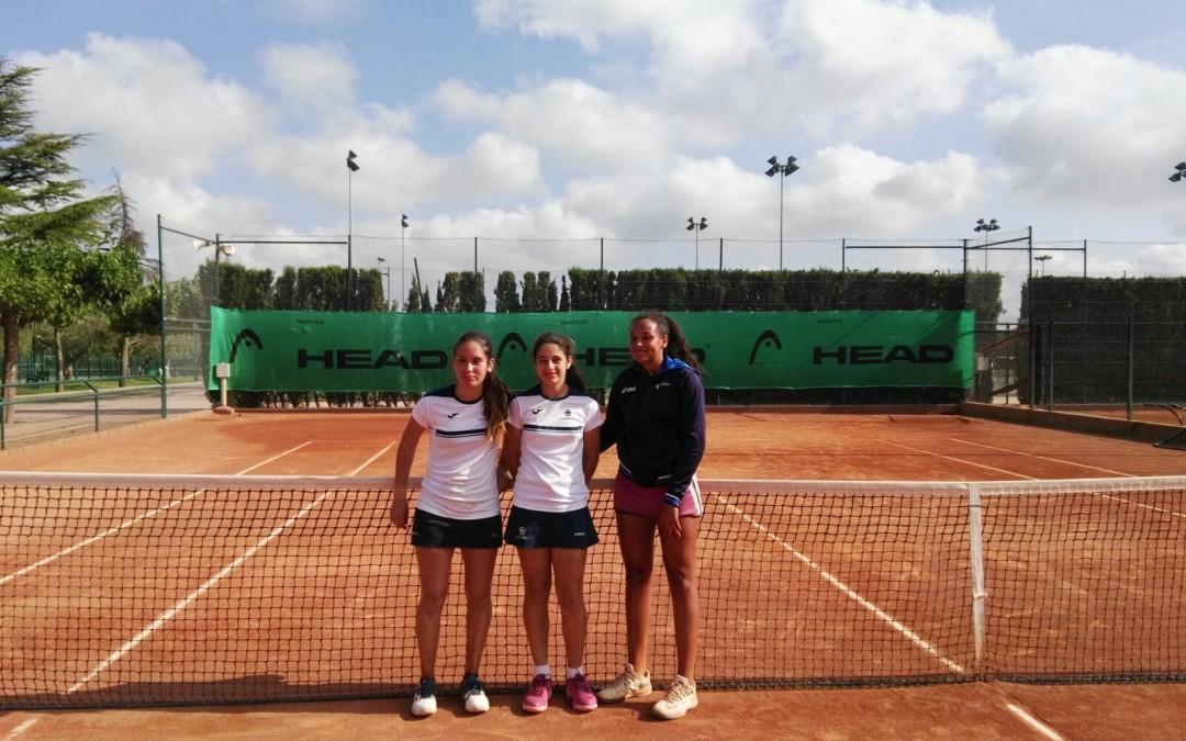 Victòria a casa del Cadet Femení davant el CT Mataró en la Lliga Catalana de tennis