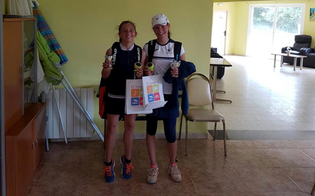 Janja Perovic, campiona alevina del Head Promeses de tennis de Comarruga