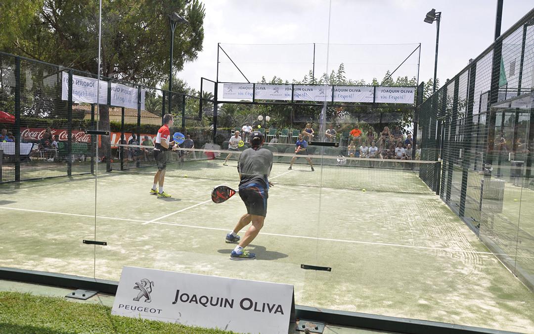 Tot a punt per l'inici del Gran Slam de Pàdel Peugeot Joaquin Oliva trofeo Ciutat de Reus que es disputa al Monterols