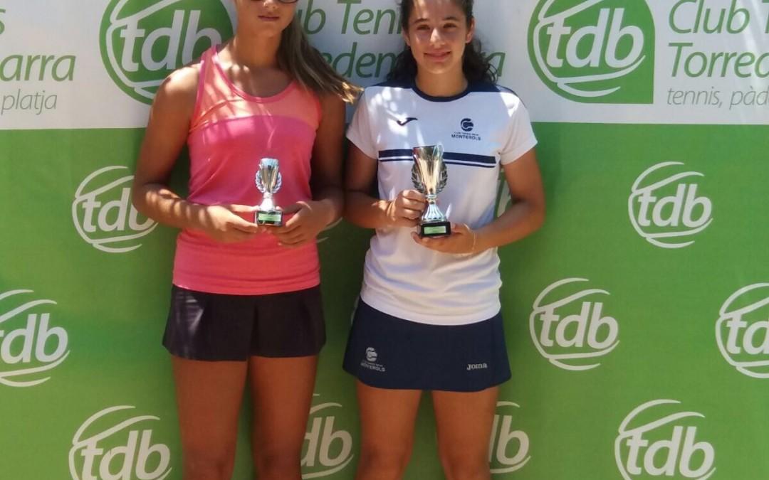 Ángela Pérez i Mariami Nadirashvili es proclamen campiones del Circuit Juvenil d'Estiu del Tennis Torredembarra