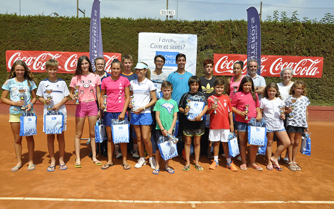 Finalitza el trofeu juvenil de tennis La Creu Blanca del Monterols