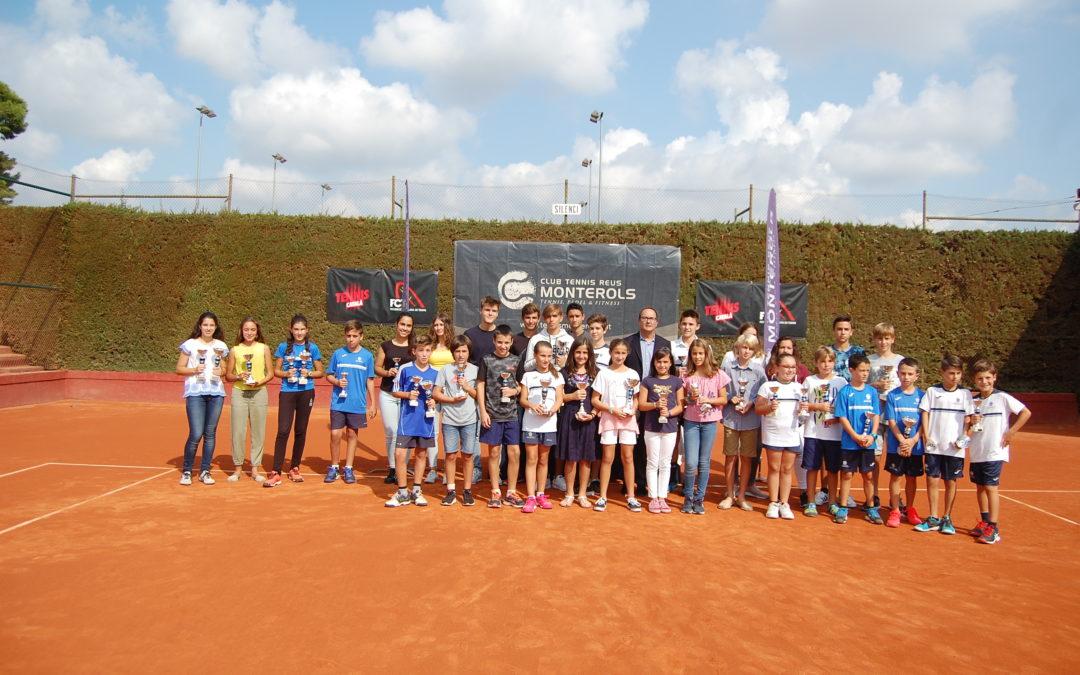 Entrega de premis del Torneig Social de tennis Juvenil
