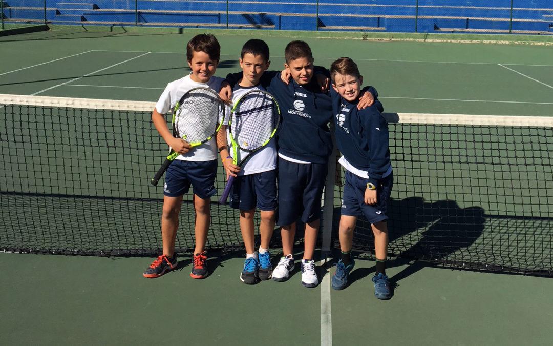 L'equip Benjamí Masculí s'estrena amb victòria a la Lliga Catalana de tennis