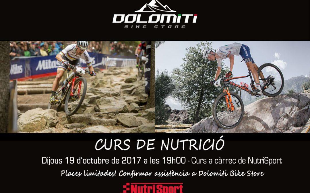 Curs de nutrició a Dolomiti Bike Store per als socis del Club