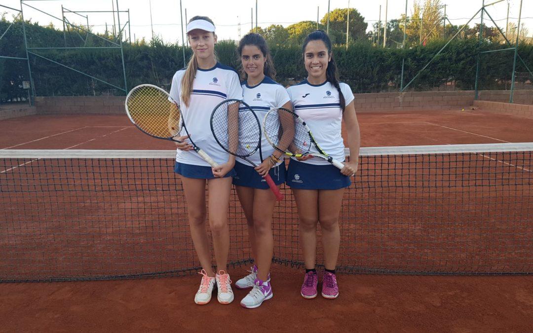 L'equip Júnior Femení que disputa la Lliga Catalana de tennis guanya al Reus Deportiu per 4 a 0