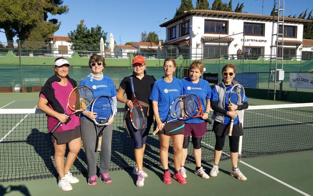 L'equip Femení +30 de tennis perd en la primera jornada del Campionat Interclubs  disputada al CT Barà