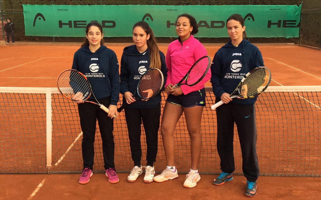 El Júnior Femení perd en les semifinals del Campionat de Catalunya de tennis per equips