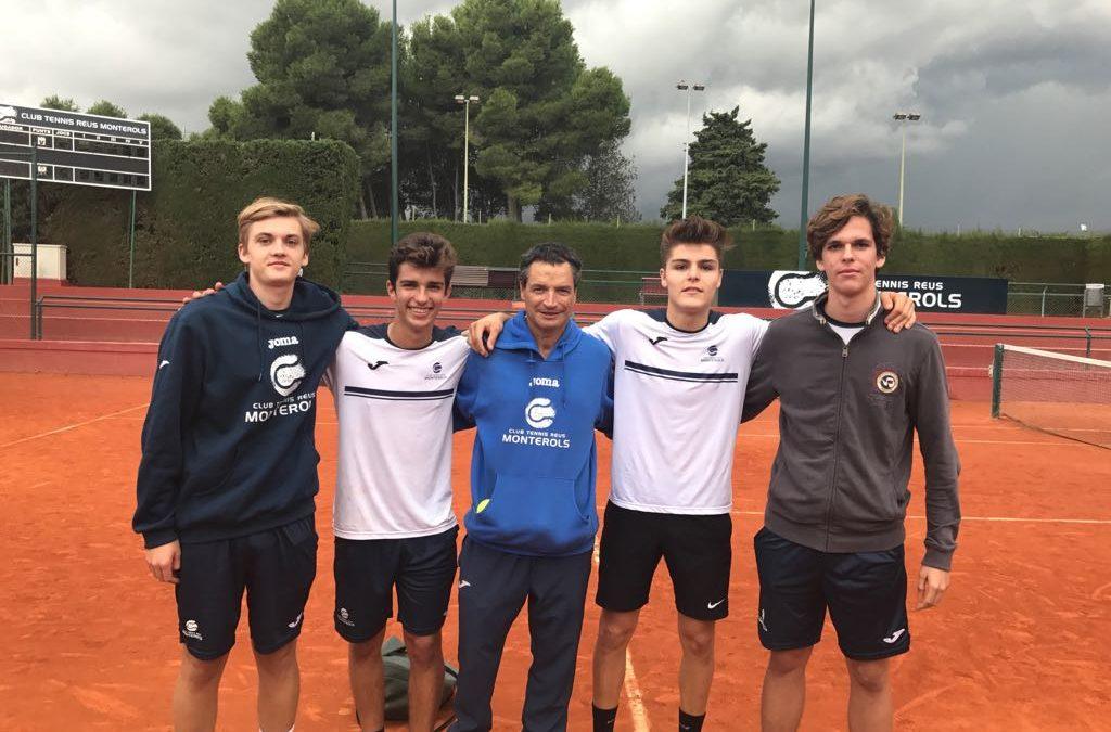 El Júnior Masculí B perd contra el Nàstic en la Lliga Catalana de tennis